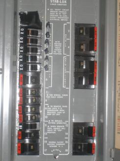 Electrical Panel Problems