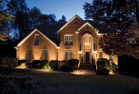 B b electric links Exterior accent lighting for home